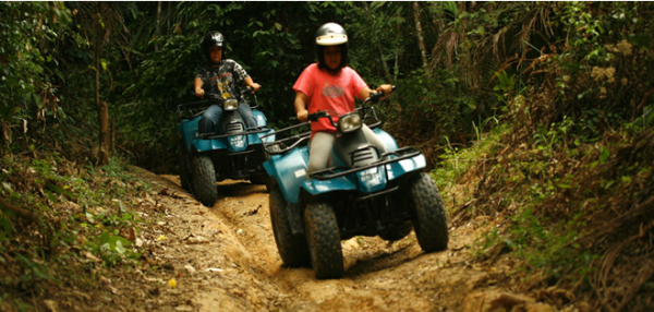 ATV waterfall 9 new activities Malaysian couples can do together
