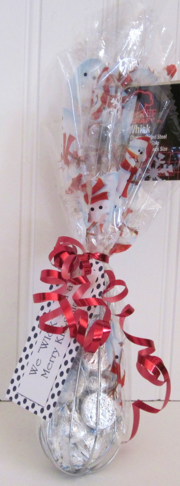DIY Whisk wrapper for Xmas