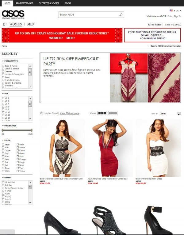 4 online shopping sites all women must know lolaloot for Online websites for shopping