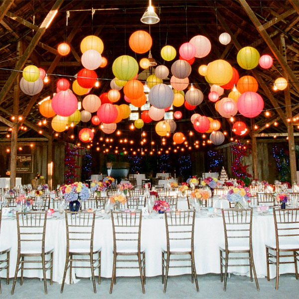 11 wedding decorations you can buy online for really cheap lolaloot paper lanterns 11 romantic and whimsical wedding decorations you can buy online for really cheap junglespirit Choice Image