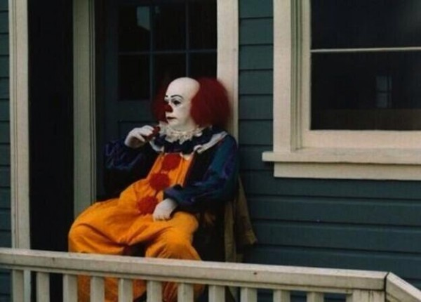 most amazing movie and TV behind-the-scenes of all time Break on the set of IT