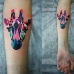 Amazing tattoos by Sasha Unisex