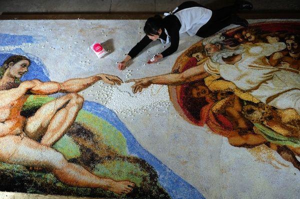 Edible famous art 1