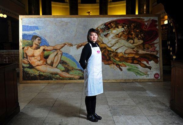 Edible famous art 4