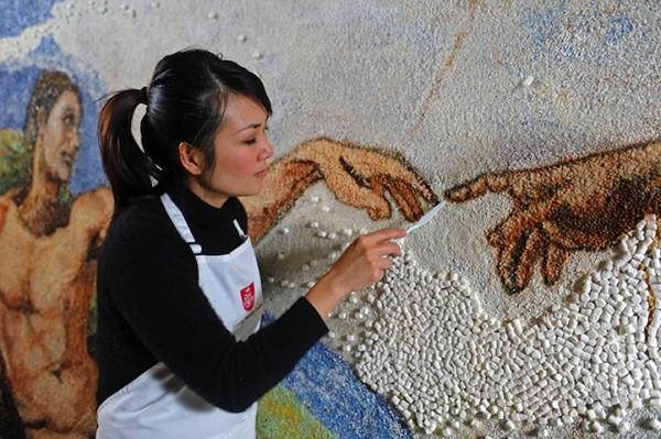 Edible famous art 6
