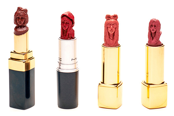 Amazing lipstick sculptures that will blow your mind