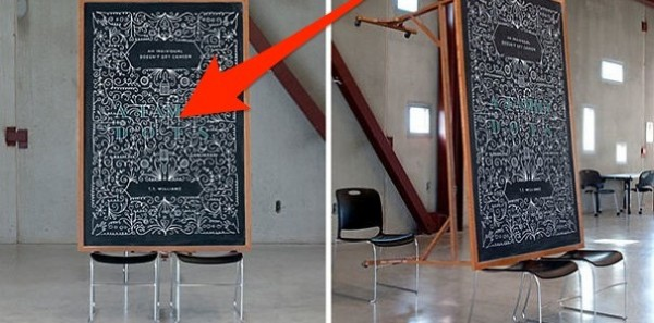 Completely mind blowing blackboard arts by anonymous artists Dangerdust