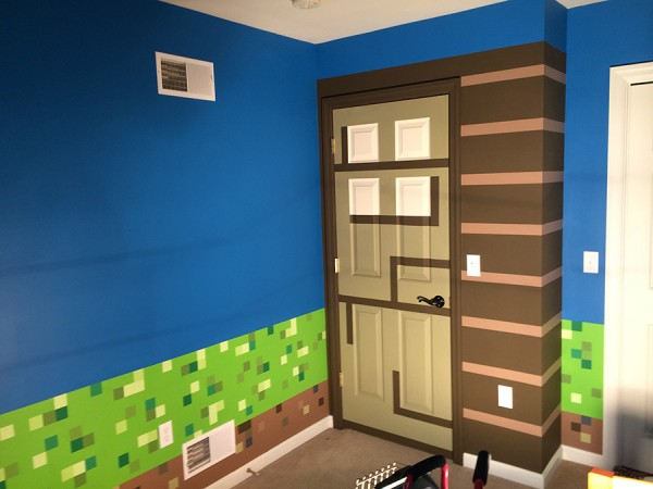 The Epic Creation Of A Minecraft Bedroom Lolaloot