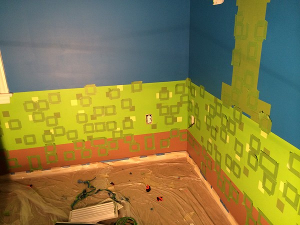 9 - The Epic Creation of a Minecraft Bedroom