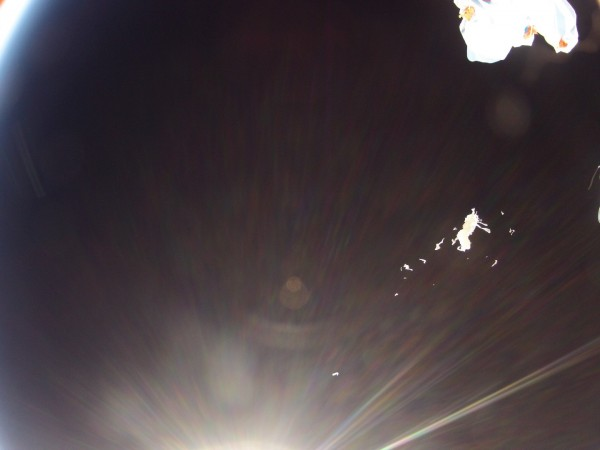 Man straps GoPro to a shoebox and sent it into space. Guess the result 20