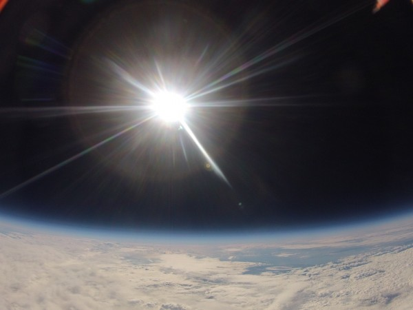 Man straps GoPro to a shoebox and sent it into space. Guess the result 59