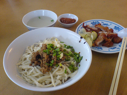 TAIWANESE PORK NOODLES